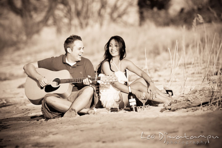 Enjoy your camping trip with your wonderful guitar