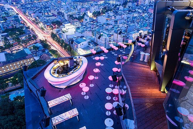 Chill Sky Bar Ho Chi Minh for a Lively Nightlife
