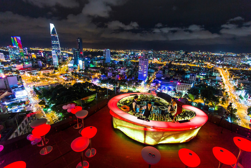Top 7 Best Rooftop Bars in Ho Chi Minh City (Saigon)