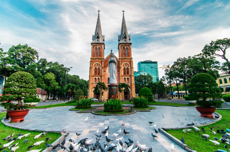 Top famous Churches in Ho Chi Minh City