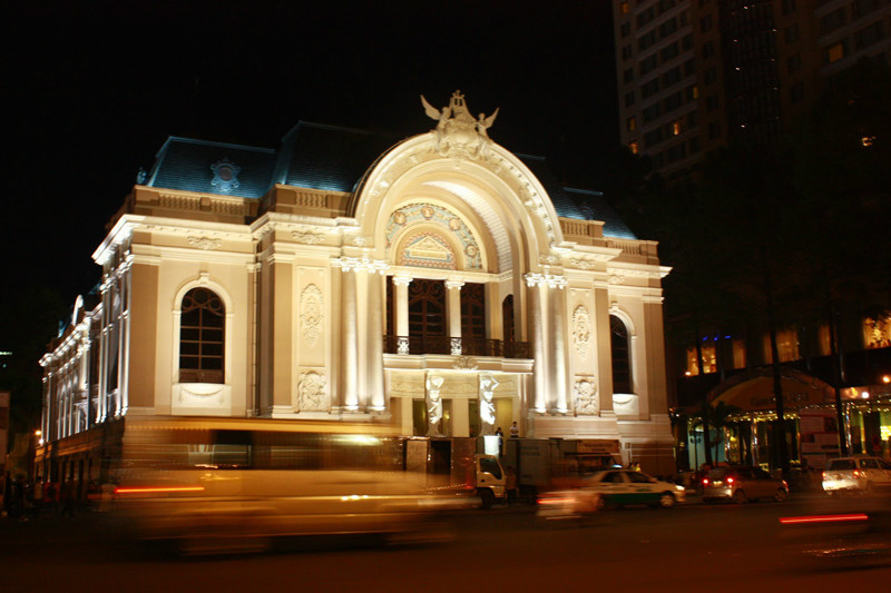 Saigon Opera House in The Eyes of Foreigners