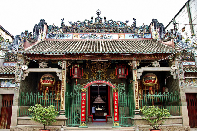 Thien Hau Temple in Ho Chi Minh City