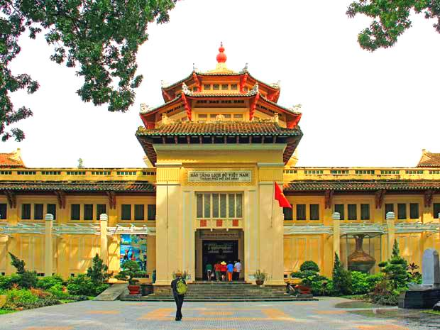 Museum of Vietnamese History in Ho Chi Minh City