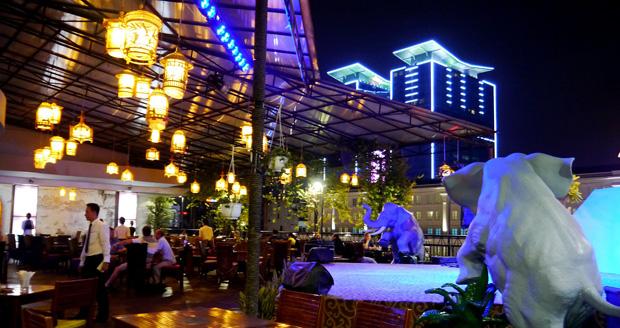 Rex Hotel's Rooftop Garden Bar in Saigon
