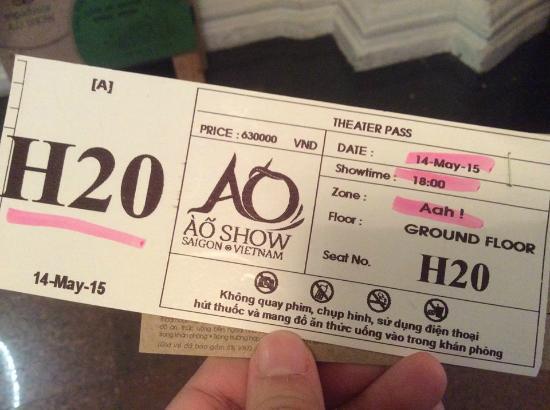 saigon opera house ticket price