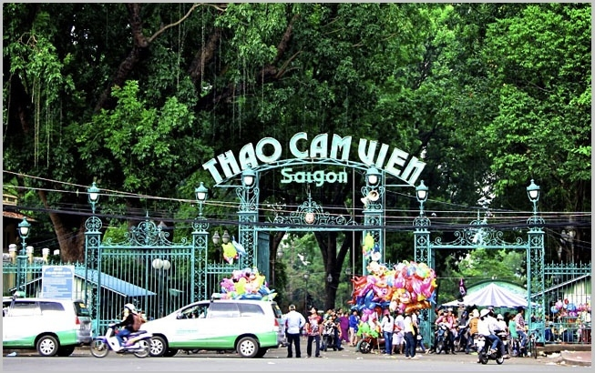 Saigon Zoo and Botanical Gardens - Entrance fee