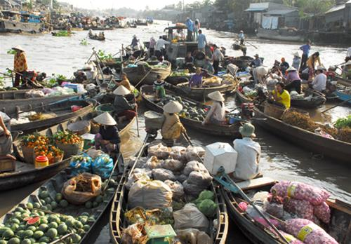 Explore Phong Dien Floating Market (Can Tho City)