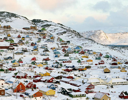 The attractive lands in Greenland