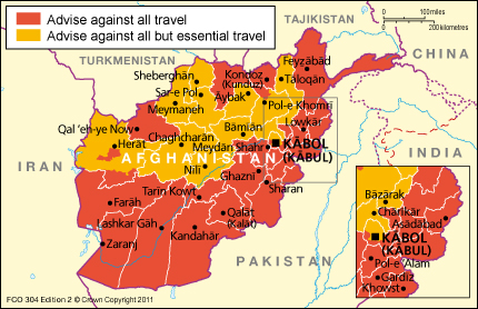 The Things you should consider before travelling to Afghanistan