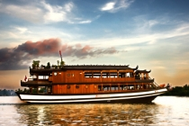 Water Puppet Show and Dinner on Bonsai Cruise at Saigon