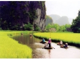 Hoa Lu Ancient Citadel - Tam Coc River Landscape Tour 1 Day From Hanoi Vietnam | Viet Fun Travel