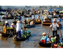 Bassac Cruise - Mekong Delta Tour 2 Days 1 Night  Depart From Caibe
