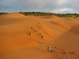 Mui Ne Sunset Sand Dunes Half Day Tour | White Yellow Sand dunes