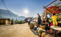 Sapa - Lao Chai - Ta Van - Giang Ta Chai - Cat Cat Villages Tour From Can Tho 2 Days