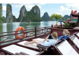 Tour Halong Bay on Lavender Cruise 2 Days 1 Nights | Viet Fun Travel