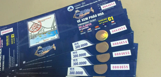Danang International Fireworks Festival Ticket