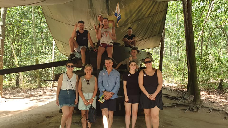 Viet Fun Travel tour in Cu Chi Tunnels