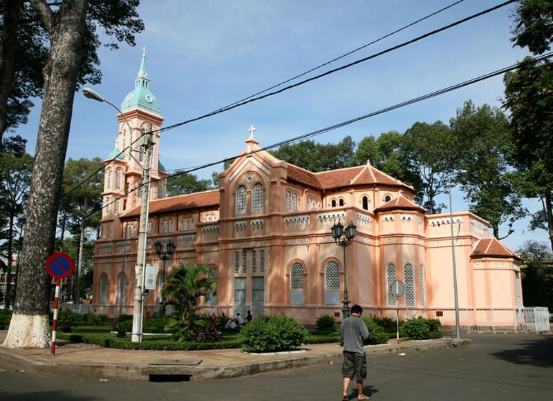 Cho Quan church Viet Fun Travel