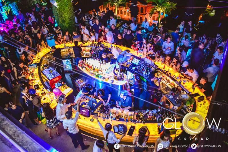 Glow Sky bar Saigon