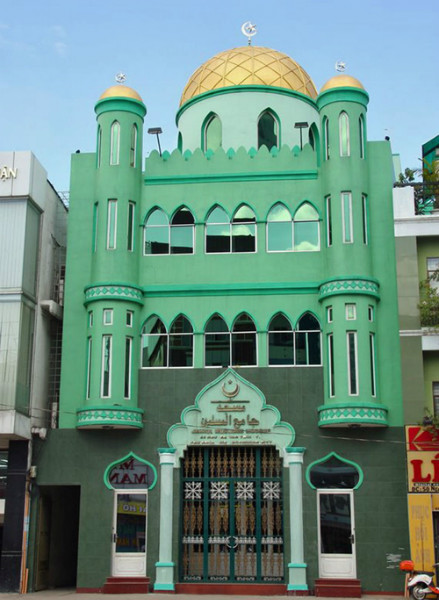 Jamiyah Islamic Mosque sai gon Viet Fun Travel
