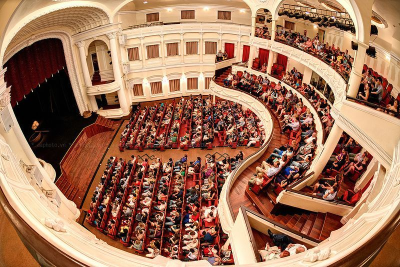 Saigon Opera House inside
