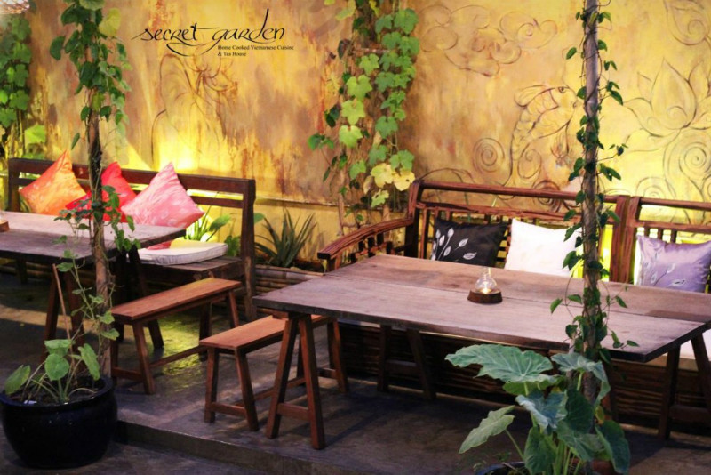 Secret-garden-restaurant-Ben-Nghe-Ward