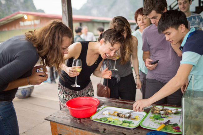 Attend a cooking class halong bay