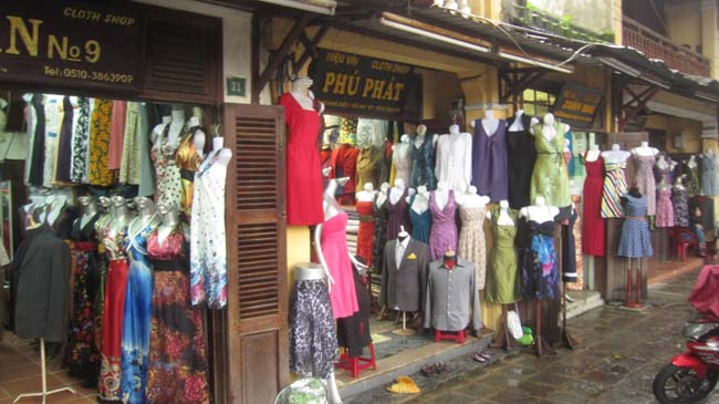 shop around Hoi An