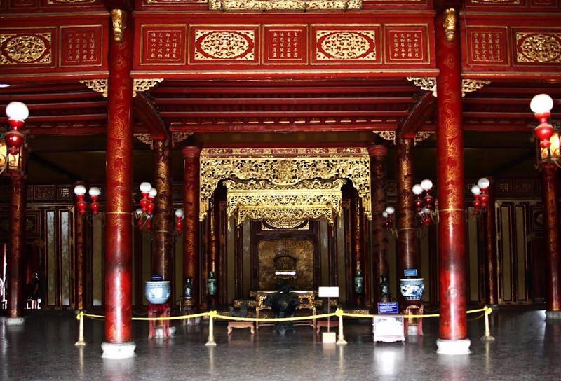 Thai Hoa Palace Hue imperial