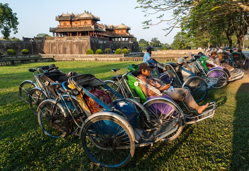 cyclo in Hue imperial