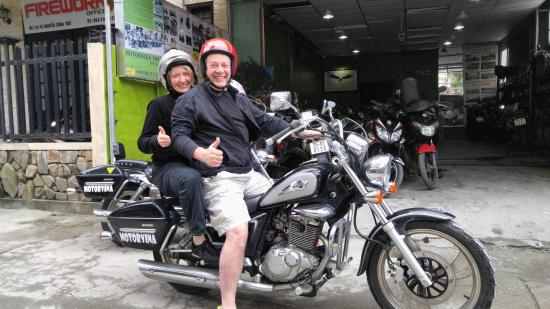 hire a motor bike hue