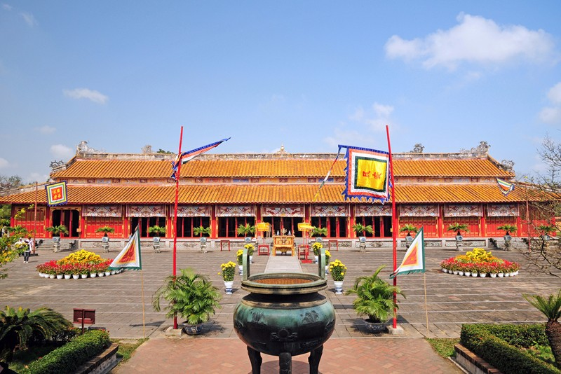 the mieu temple Hue imperial