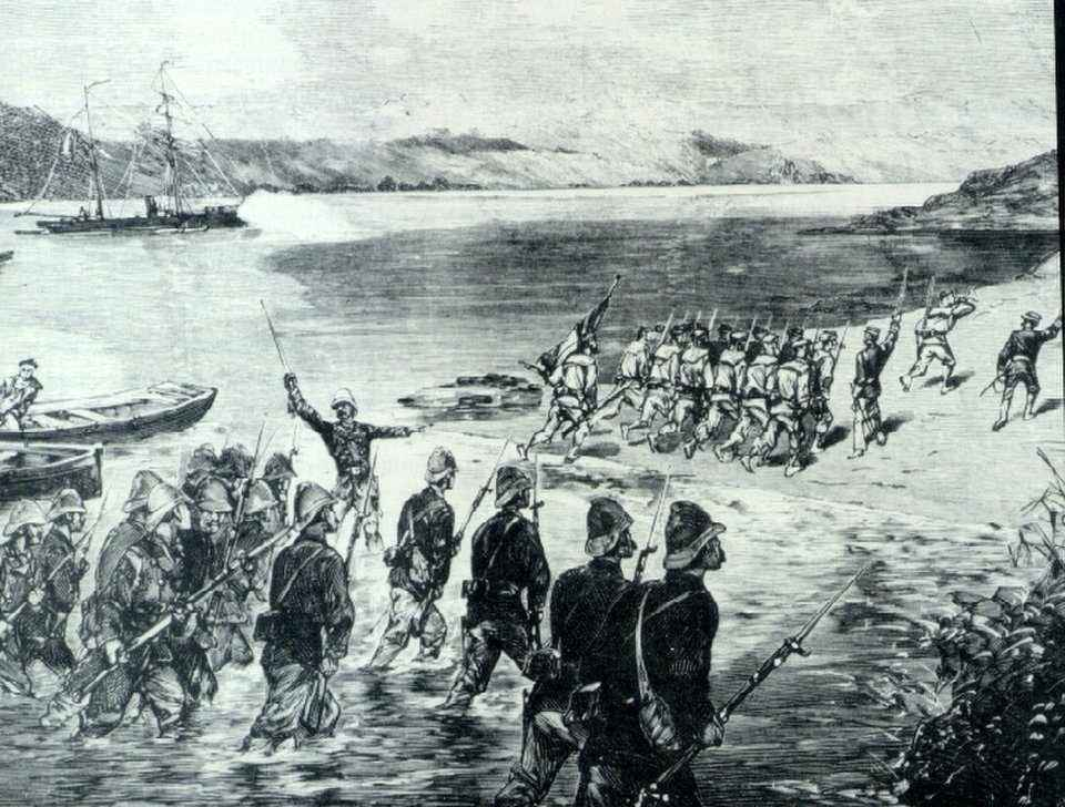 The France invaded Mekong Delta in 1858