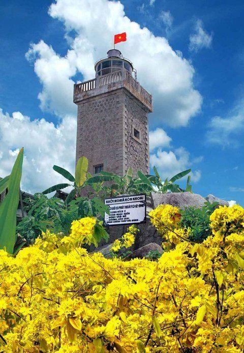 lighthouse hon khoai island
