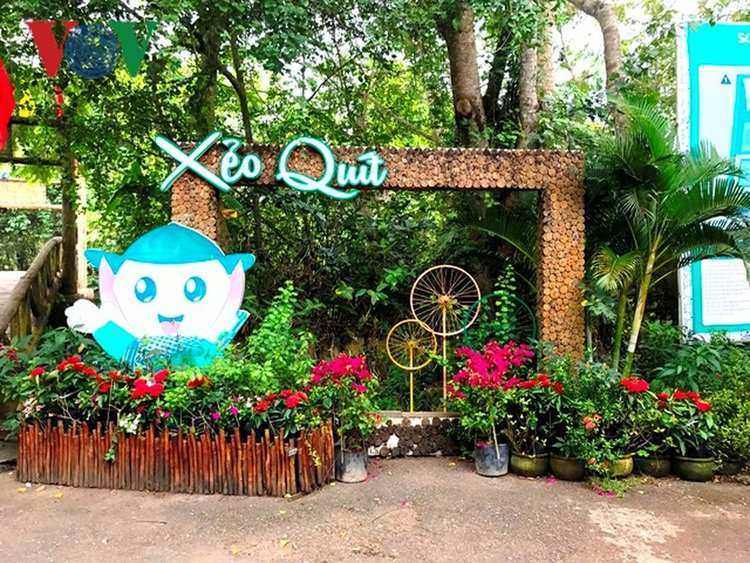 ​Xeo Quyt Relic Area: A unique charm of Mekong Delta