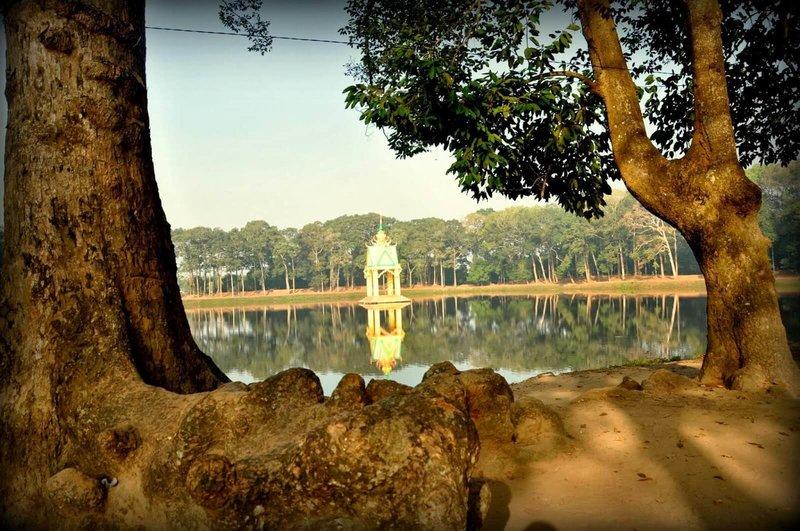 Ba Om pond