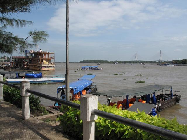 Ninh kieu wharf in Can Tho