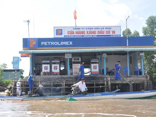floating market petroleum