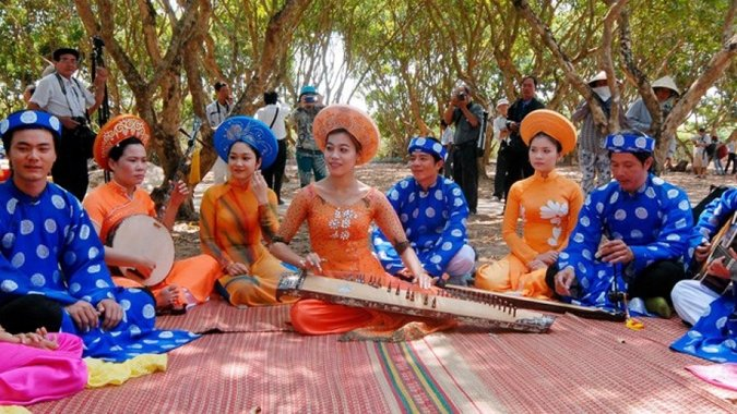 The charm of Folk Music in Mekong Delta