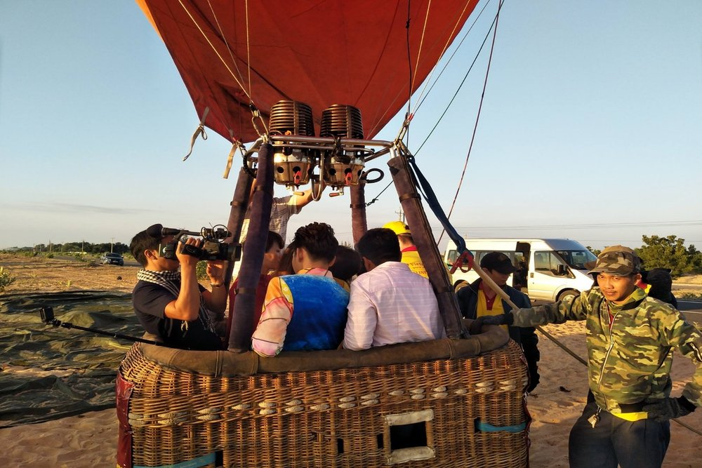 Hot-air Balloon Flight Mui ne
