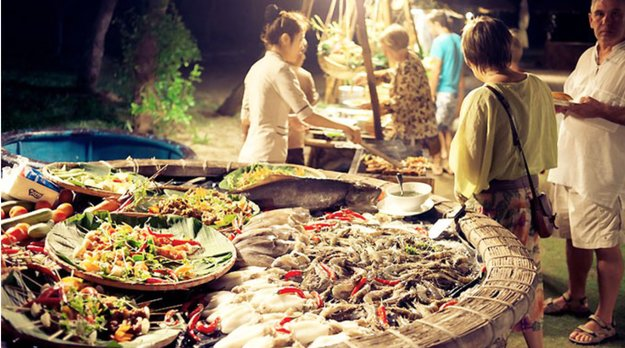 Mui ne night food