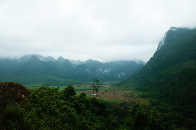 Cha noi valley